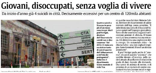 Suicidi_La Sicilia