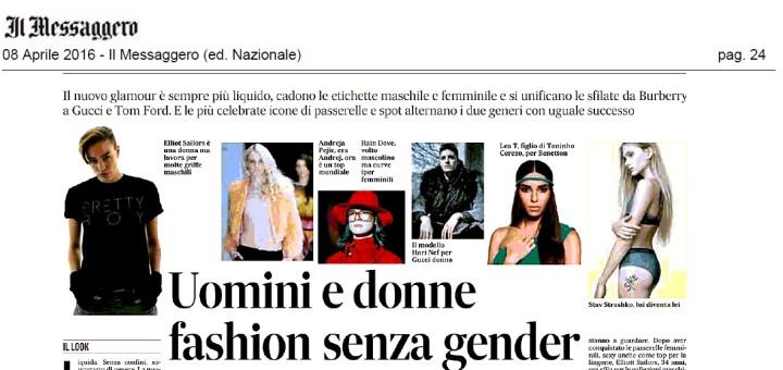 Fashion gender