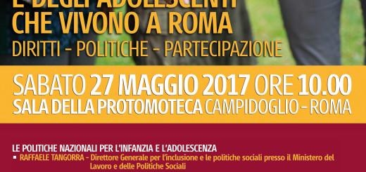 Locandina Convegno 27 maggio 2017 Campidoglio